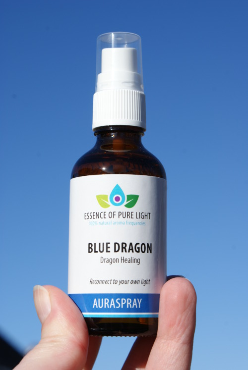 photo of blue dragon auraspray