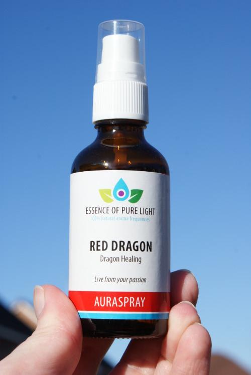 photo of red dragon aura spray