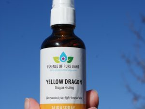photo of yellow dragon aura spray