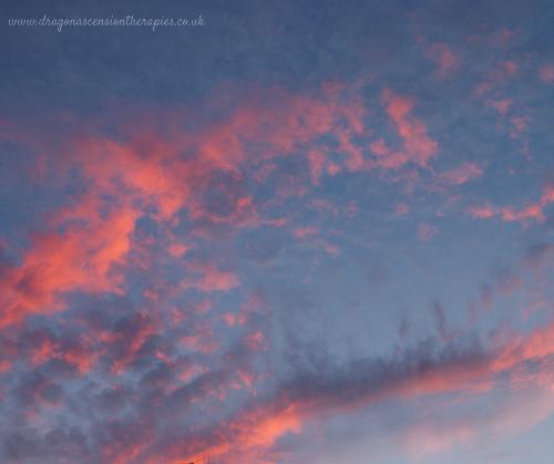 photo of ayrshire sunset