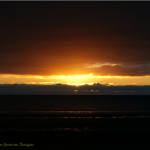 photo of sunset at Prestwick