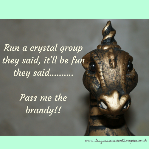pic for running a crystal group blog