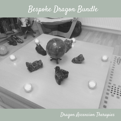 photo showcasing the bespoke dragon bundle