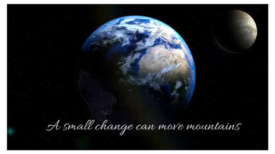 photo on blog post a small change can move mountains