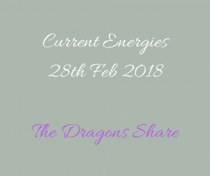 Pic for the discernment in current energies blog 28th Feb 2018