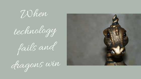 Banner picture for technology versus dragons blog