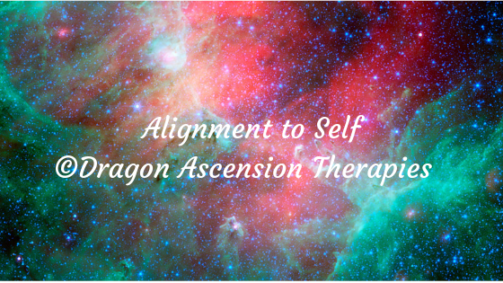 "Launching my new service called ""Alignment to Self""."