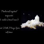 Preloved crystal live sale on Zoom platform 25th May 5pm UK time.