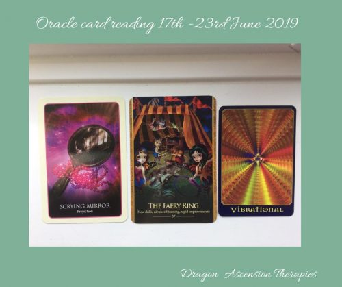 Photo of 3 card reading for 17th - 23rd June 2019