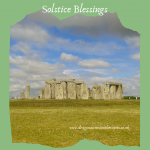 Photo of Stonehenge taken Solstice 2014. Blog speaking about solstice and shadow working in balance