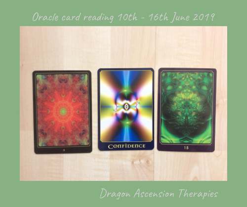 3 card spears for reading 10th to 16th June 2019