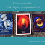 photo of 3 card spread for 26th August to 1st September 2019