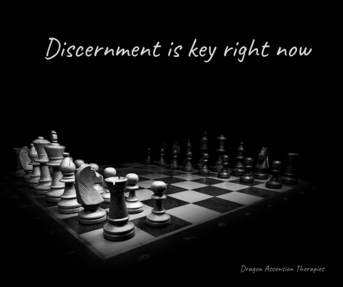 photo of a chess board for a blog on discernment