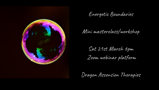 photo for energetic boundaries mini master class