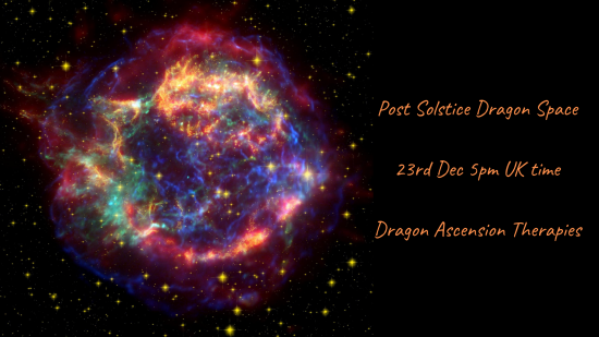 A post solstice event on 23rd December 2020