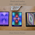cards drawn for oracle reading 14th to 20th June 2021