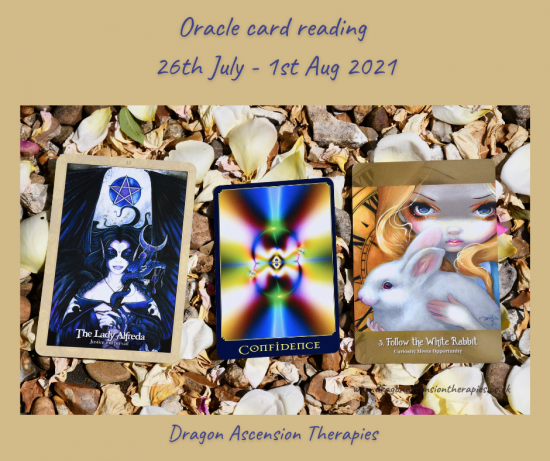 cards drawn for 26th July to 1st august