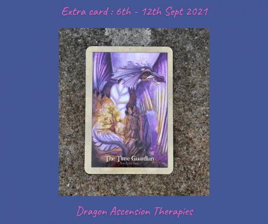 extra card for the week 6th to 12th September 2021
