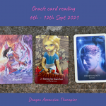 cards pulled for weekly reading 6th to 12th September 2021