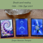 cards drawn for the oracle reading 13th to 19th September 2021