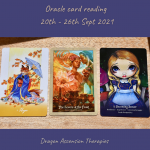 photo of cards drawn for 20th to 26th September 2021
