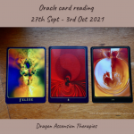 cards pulled for 27th September to 3rd October 2021